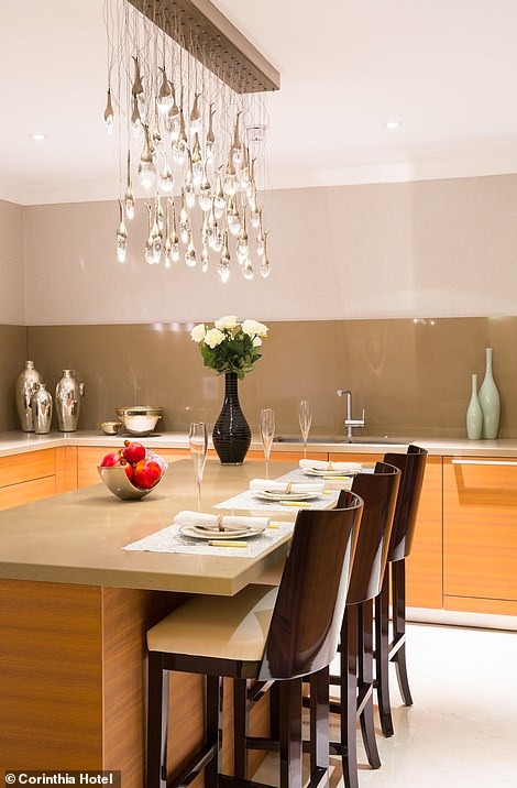 The Bulthaup fully fitted designer kitchen and breakfast room with central island