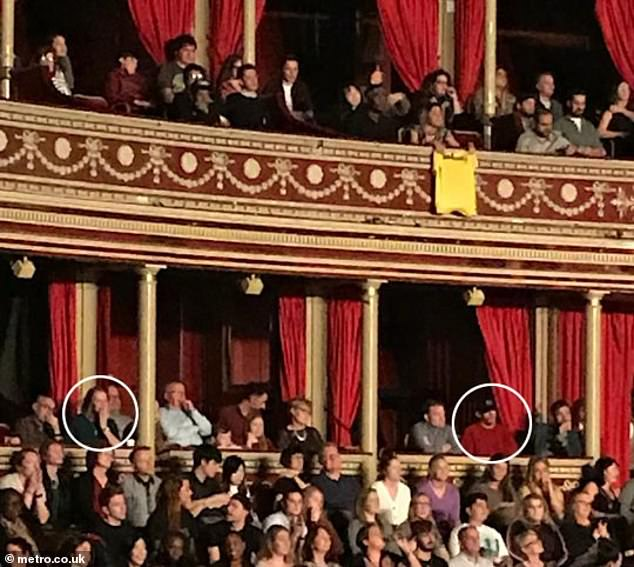 Getting serious: Channing Tatum has fuelled further romance rumours with Jessie J as he made an appearance at her gig at the Royal Albert Hall, with her mum Rose (L) sitting a few seats away