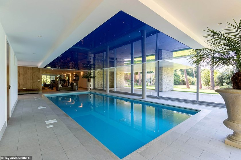 The pool was not completely lost however, with this reincarnation inside Optima more than suitable for a luxurious swim