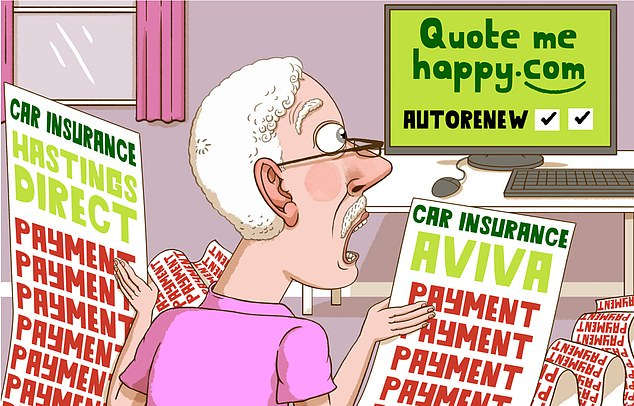 One reader was left extremely unhappy after accepting a quote throughcar insurance company Quotemehappy.com