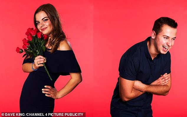 Reality TV: James Bertrand (right) on Channel 4's popular romantic show First Dates