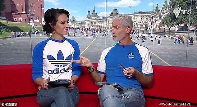 'Fake accent':The brunette co-hosted the Australian World Cup broadcast alongside SBS Chief Football Analyst Craig Foster in 2018. Lucy was abused by online trolls for her tendency to enunciate players' names in the brogue of their native country, with critics accusing her of adopting a 'fake accent'