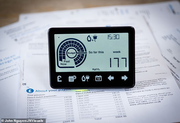 Smart meterswere supposed to start in 2014, but did not begin until 2017. By this month just 109,000 have been fitted, leaving suppliers having to install an extra 7.1million of the older meters during this time [File photo]