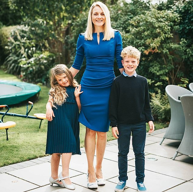 Holly Donald, 36, was diagnosed with fibromyalgia after suffering from a series of debilitating symptoms (pictured with her daughter Matilda, six, and son Max, nine)