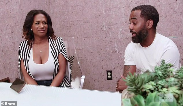 Baby talk: Kandi Burruss and husband Todd met with a doctor about surrogate options