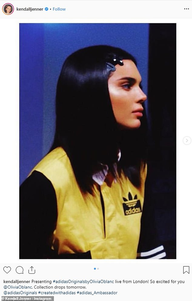 Of Adidas Wassupkicks Jenner The Is Face Kylie New Falcon