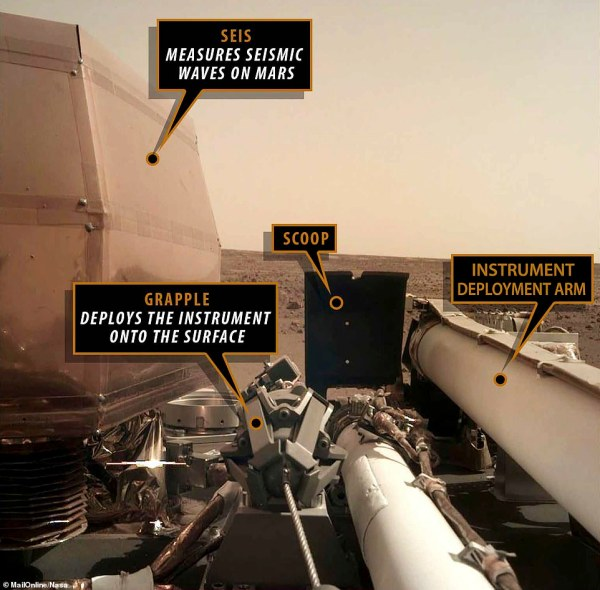 NASAs InSight lander shares new images from Mars as it