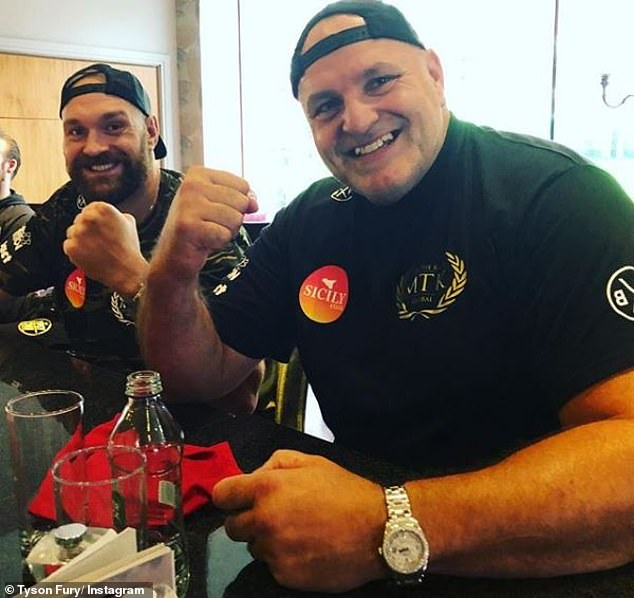 John Fury recalls seeing his son Tyson lying in a hospital bed covered in tubes back in 2016