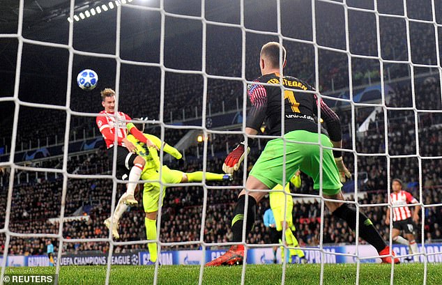 Luuk de Jong pulled a goal back for the home side with a headed goal in the 82nd minute
