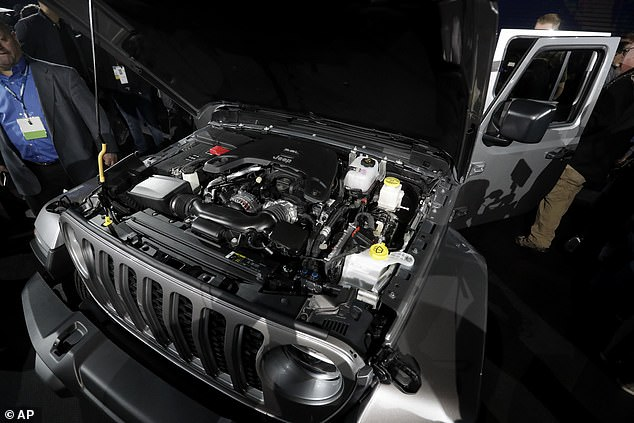 Buyers can opt for a 3.6-liter V6 gasoline engine or a 3.0-liter diesel V6 engine when releasing the car