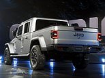 The new Gladiator was unveiled at the Los Angeles Auto Show on Wednesday in a spectacular ceremony