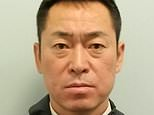 Katsutoshi Jitsukawa, 42, pictured, was arrested at the airport after failing a breath test just 50 minutes before he was due to fly a Japan Airlines flight to Tokyo