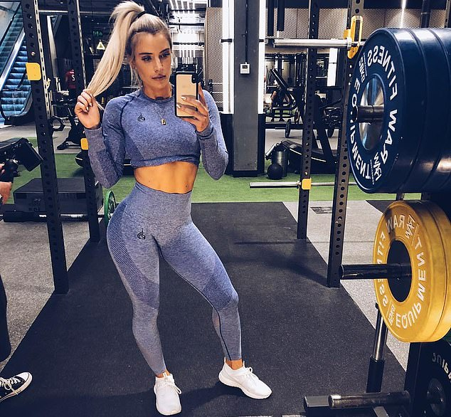 Sophie's approach to exercise, one that's seen the fitness enthusiast carve a set of rock-hard abs is built a combination of different routines