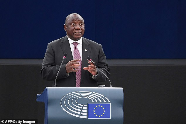 Cyril Ramaphosa has made land redistribution from white farmers to black disadvantaged citizens a flagship policy