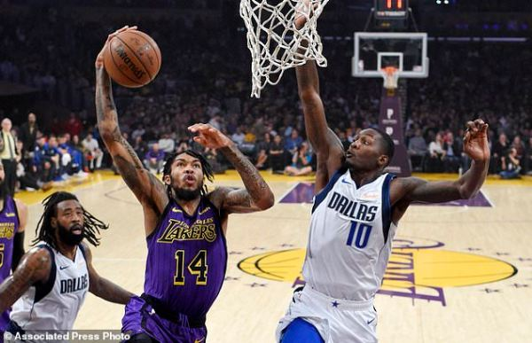 LeBron, Lakers rally in 2nd half to beat Mavericks 114-103 ...