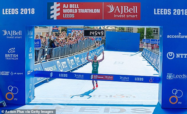 Ahead of the game: The fund platform AJ Bell sponsors triathlon events