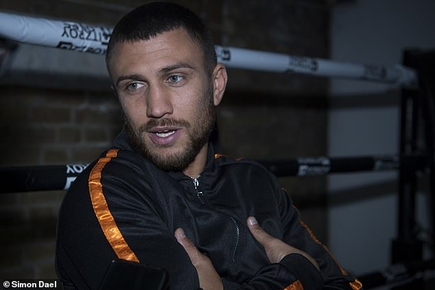 Lomachenko started boxing when he was just four years old until he was nine