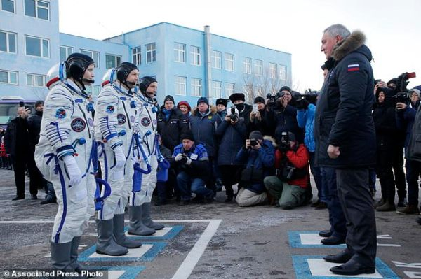 The Latest Soyuz with 3 astronauts docks with space