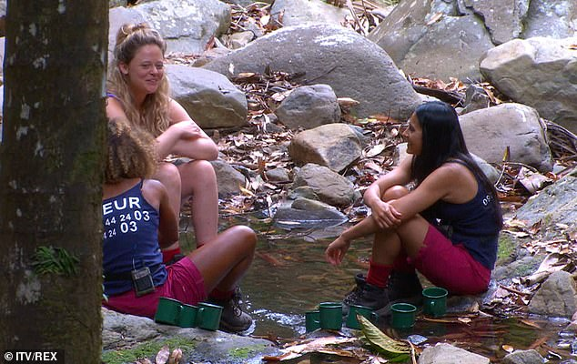 Girl talk:Next they decided who they would chose out of the girls, with Emily asking Fleur who it would be out of her Fleur and Rita