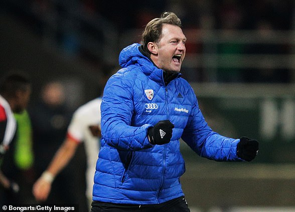 The 51-year-old led Ingolstadt to the Bundesliga in 2015 after winning the Bundesliga 2