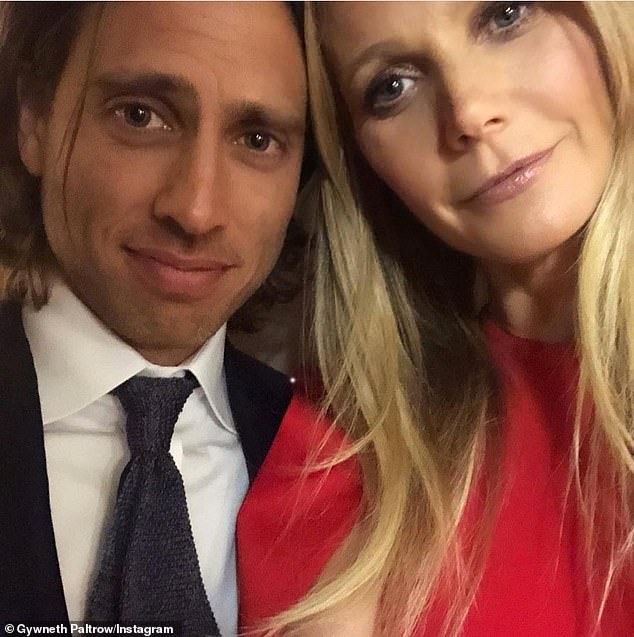 'Great': The blonde, who married Brad Falchuk, 47, in September, described her sex life as 'great and satisfying'