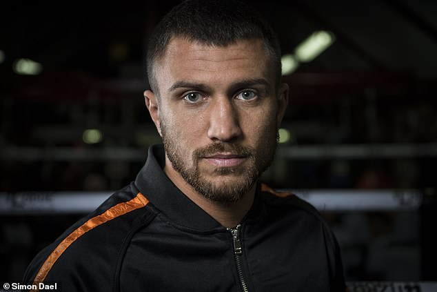 Lomachenko says: 'I'm doing all of this for my legacy. Because I want to be the greatest. '