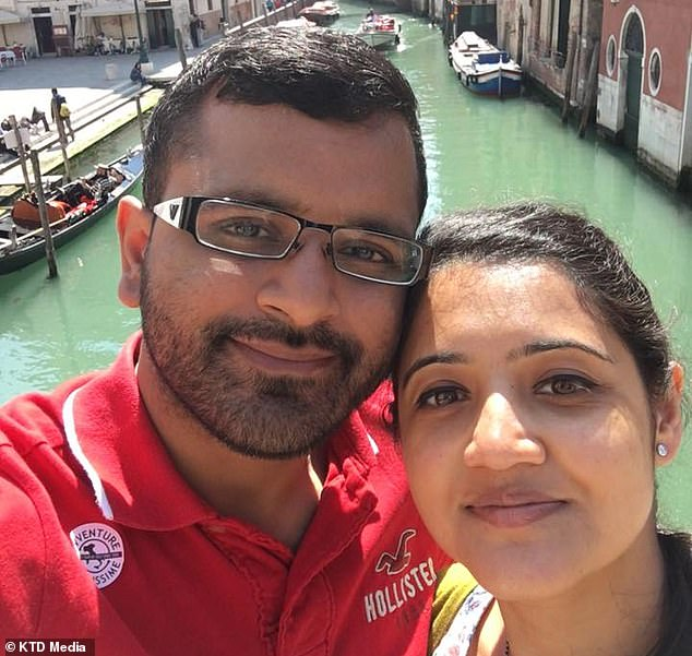 Mitesh Patel, 37, strangled his wife Jessica, 34, at their home in Middlesbrough, so he could live with his gay lover