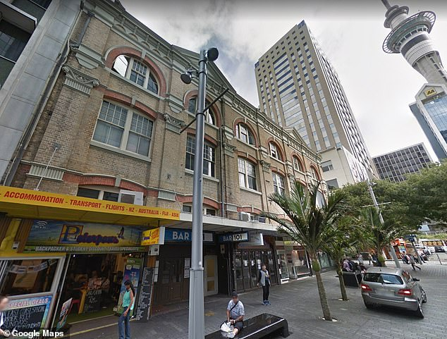 The 22-year-old tourist had reportedly been staying at Base Backpackers on Queen Street in the heart of Auckland