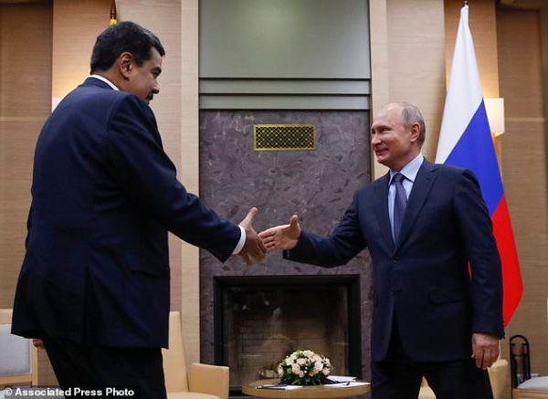 Putin voices support for Venezuelan leader visiting Russia ...