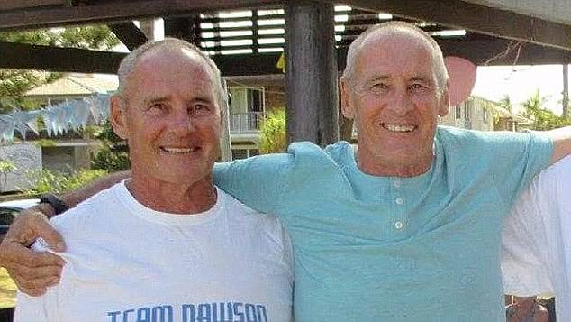 Chris Dawson (left) was arrested on the Gold Coast on Wednesday and charged with Lyn Dawson's murder on Thursday