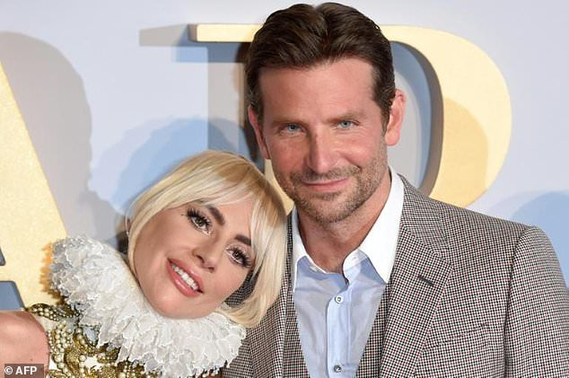 Lady Gaga (L) and Bradley Cooper -- seen at the London premiere of 'A Star is Born' in September 2018 -- are seen as near-certain Golden Globe nominees
