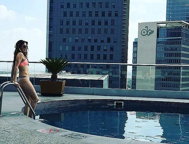 Since their split, Princess Tessy has gone online, posting photos of her at Dubai hotels