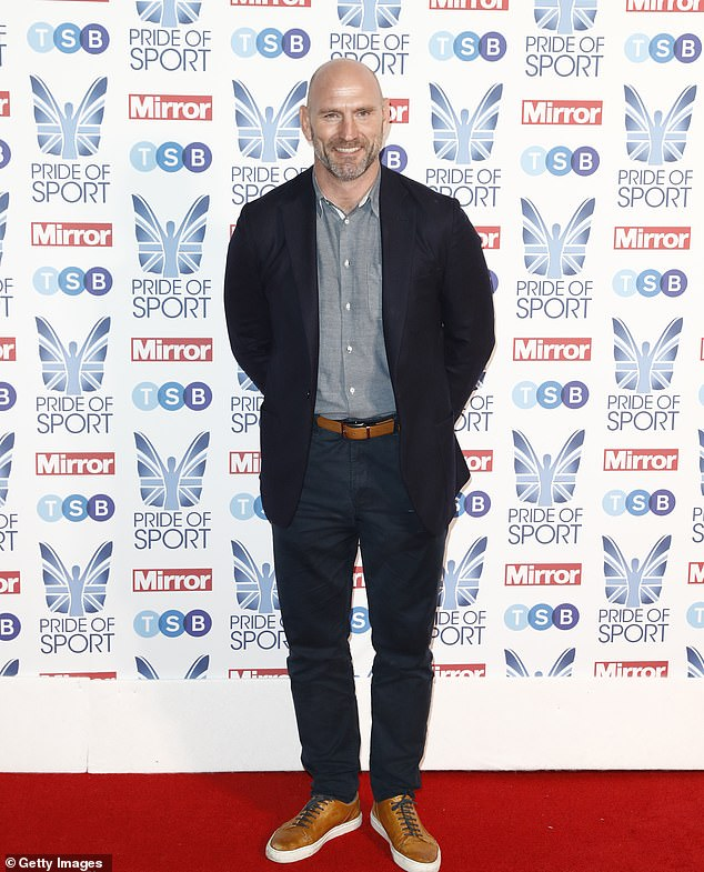 Lawrence Dallaglio was awarded a career award for his extraordinary rugby career