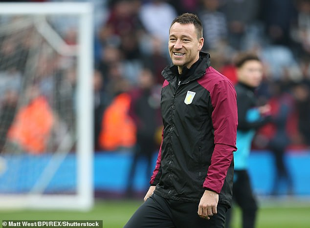 Terry hopes to celebrate his birthday with Villa by beating rivals West Brom on Friday