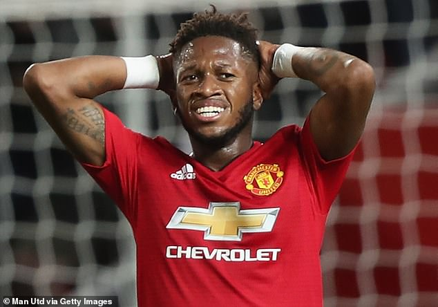 Manchester United signed Fred for £52m last summer but he has struggled to make an impact