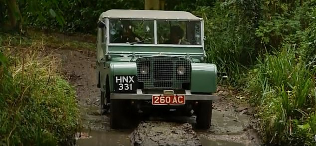Mike took Dorothy out for a ride around the all-terrain road known as the Jungle Track
