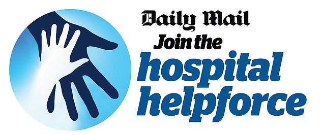 The Daily Mail is asking readers to find time to help patients and take pressure off staff.More than 19,000 selfless Daily Mail readers have responded to our call for hospital volunteers