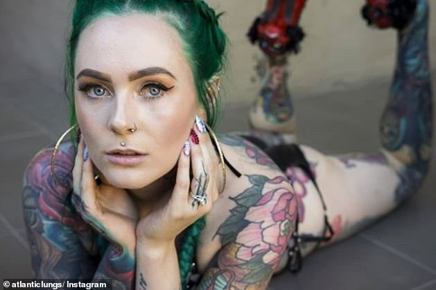 Originally Dr Gray had only planned on collecting a few small tattoos from specific artists as well as a large scale back piece but slowly her collection grew