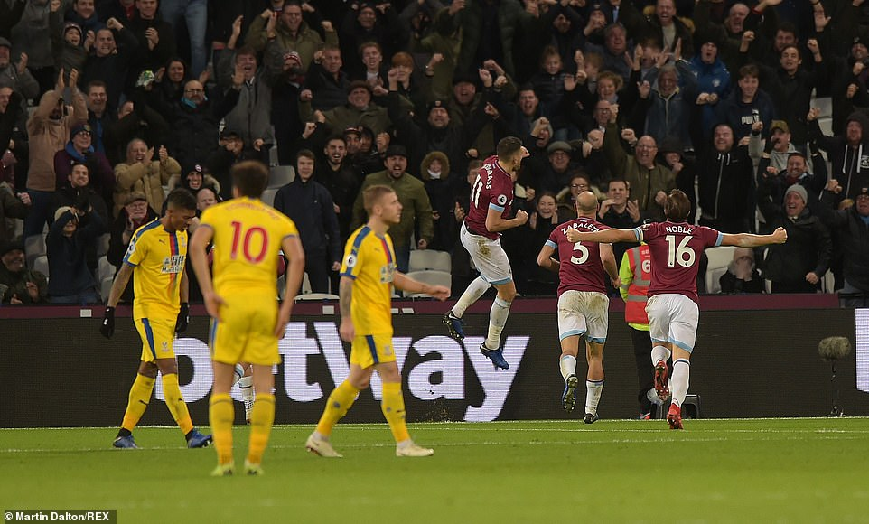 The London Stadium exploded when Snodgrass scored the level his team deserved against visitors
