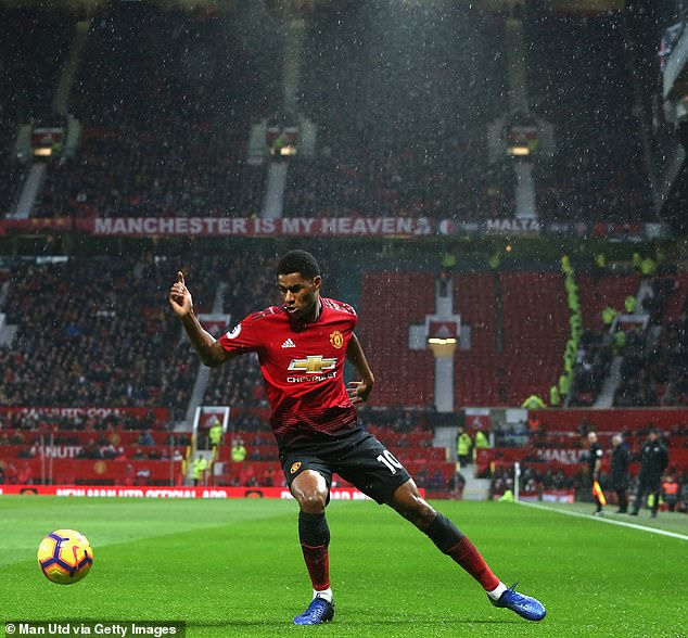 Marcus Rashford in fine form as the youngster is a goal and two assists for United