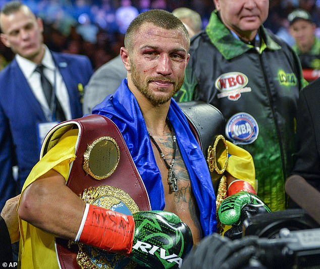 The Ukrainian now intends to complete the set of lightweight belts, with two still to win