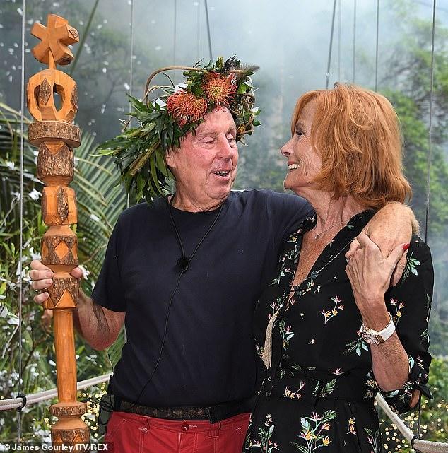 Loved-up: Während seiner Zeit im australischen Dschungel erzählte er seinen Mitschülern, er nenne die rotbraune Schönheit 10 Mal am Tag und verglich seine Beziehung mit dem Gewinn der Lotterie.