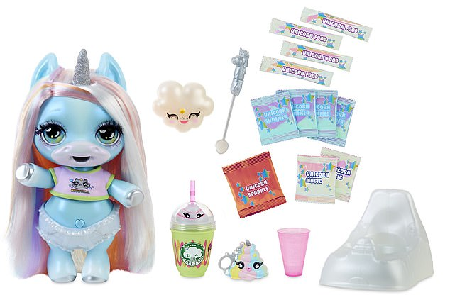 Christmas list: The Poopsie Slime Surprise Unicorn is a colorful unicorn toy that has grown popular in recent months. It 'poops' out colorful slime