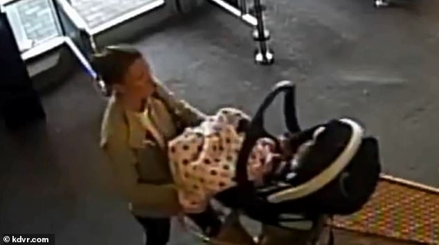 On Monday police released footage ofBerreth entering a Safeway in Woodland Park with her baby on November 22, which is the last visual confirmation police currently have of her