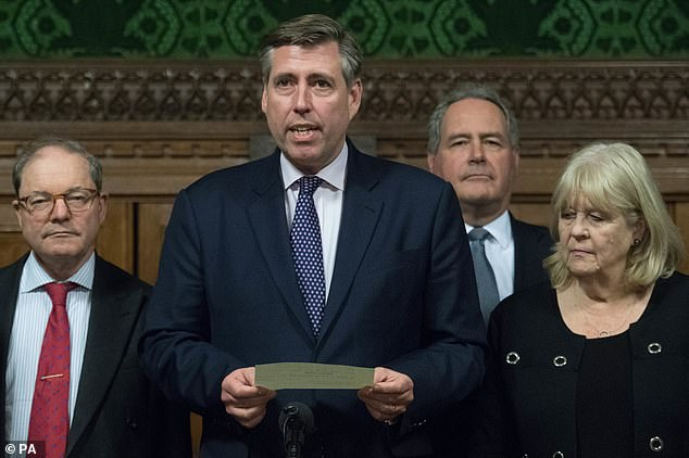 There were cheers as 1922 committee chairman Graham Brady announced the result in the Commons on Wednesday