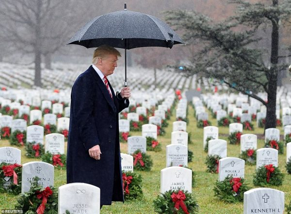 Trump makes up for Paris WWI memorial blunder by making ...