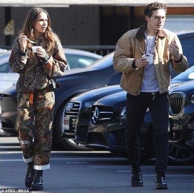 Brooklyn Beckham and model girlfriend grab some frozen yogurt