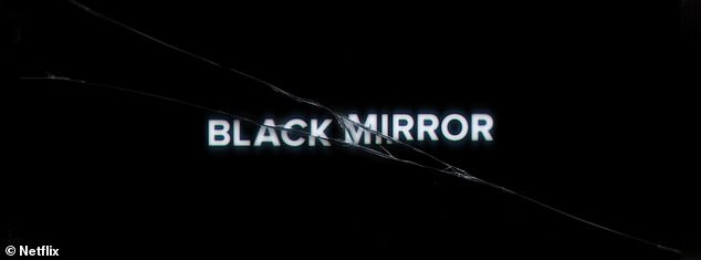 'I play one character': Fans can next catch the Golden Globe nominee's guest stint in the six-episode fifth season of British sci-fi anthology Black Mirror streaming soon on Netflix