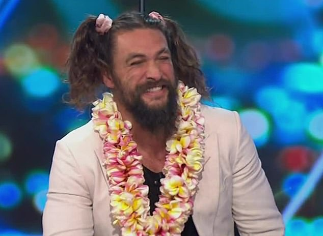 Jason Momoa Thrills Fans As He Sports Pigtails On The