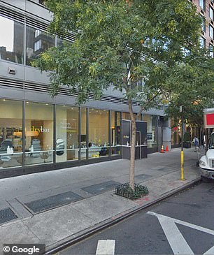 The Drybar salon (pictured) in Murray Hill said it does not tolerate racism